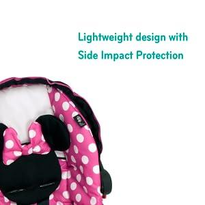 Amazon Com Disney Light N Comfy Luxe Infant Car Seat