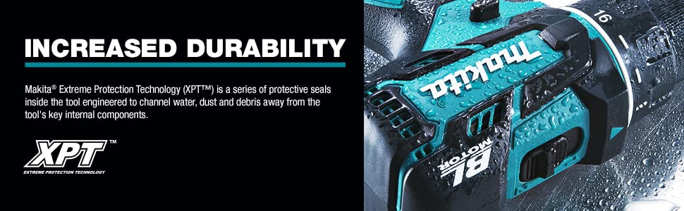 increased durability extreme protection technology XPT series protective seals tool water dust debri