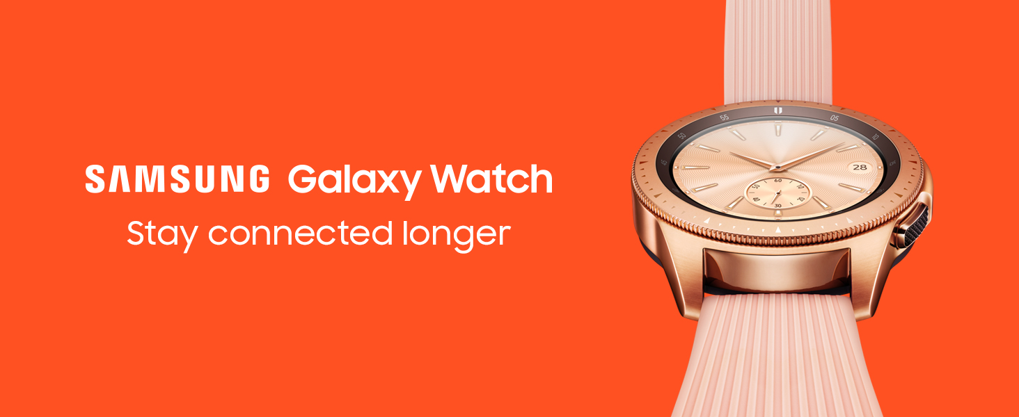 Samsung Galaxy Watch Smartwatch Rose Gold 42mm