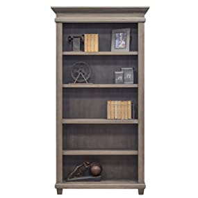 Amazon.com: Martin Furniture Open Bookcase, Weathered Dove ...