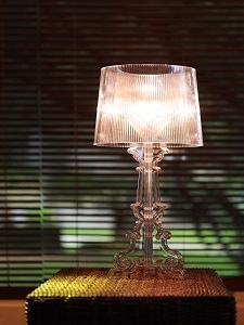 Kartell 907600 Bourgie - Lámpara metalizada, color blanco