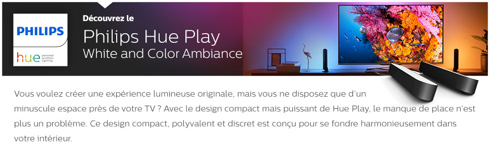 Decouvrez le Philips Hue Play WACA