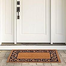 door mats outside 24x36,m entry mat,decor home fashion,dirt scraper,coco coir fiber,boot tray long