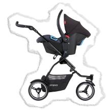 travel system stroller for 1 or 2 babys