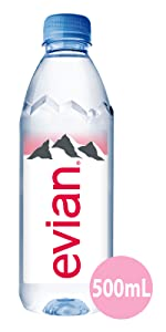 Evian Natural Mineral Water Drink Thirst Refresh Still French Alps Nature Natural