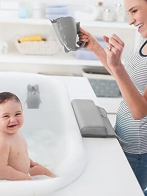 Bathtime Essentials Kit, Grey Moby