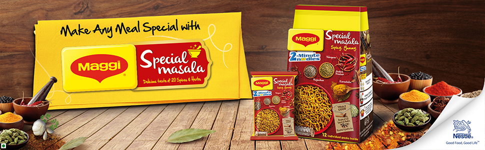 Maggi Special Masala Noodles - spicy yummy