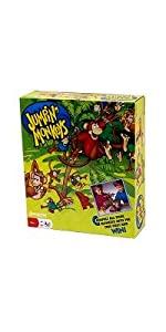 jumping, monkeys, game, bananas