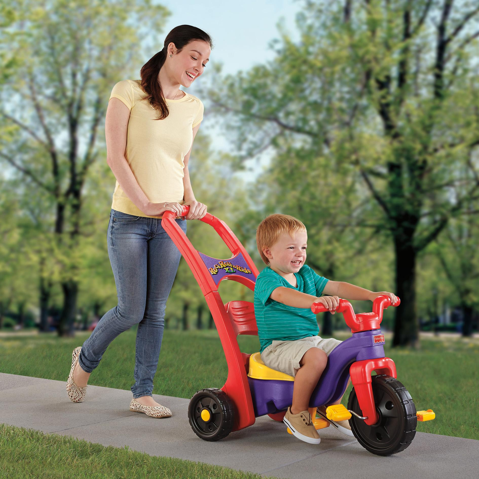 Amazon Com Fisher Price Rock Roll N Ride Trike Toys