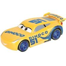Carrera First Disney Cars Dinoco Cruz Slot Car Racing Racecar