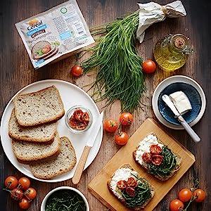 pan bauletto glutenfree, pane senza glutine, farina integrale senza glutine, pane ai cereali cereal
