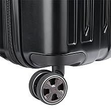 delsey paris luggage titanium wheels