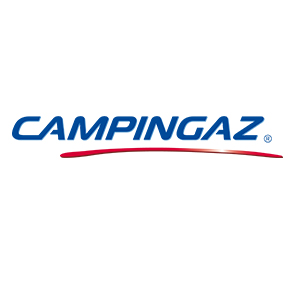 Campingaz Expert Plus Barbacoa gas piedra volcanica, parrilla gas con dos quemadores compactos y quemador lateral, 7 kW de potencia, parrilla de acero ...