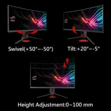 "ROG Strix XG35VQ 35"" Curved UWQHD 1440p 100Hz DP HDMI FreeSync Gaming Monitor"