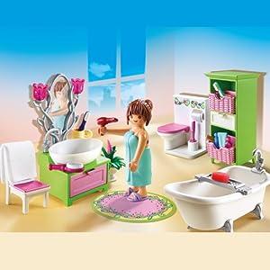 Playmobil 5309 Chambre Dadulte Avec Coiffeuse Amazonfr Jeux