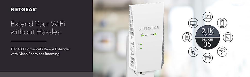 ex6400 home wifi range extender