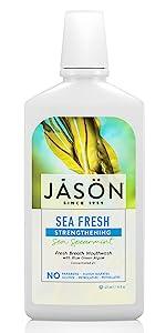 sea;fresh;mouthwash