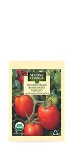 Organic Roma Paste Tomato Seeds ...
