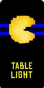 Pixeliertes Pac-Man Licht
