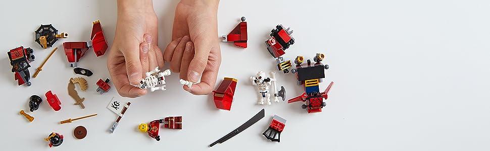 Creative ninja action toys
