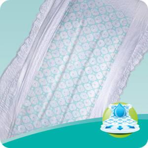 Pampers Baby-Dry 39 Nappies with 3 Absorbing Channels