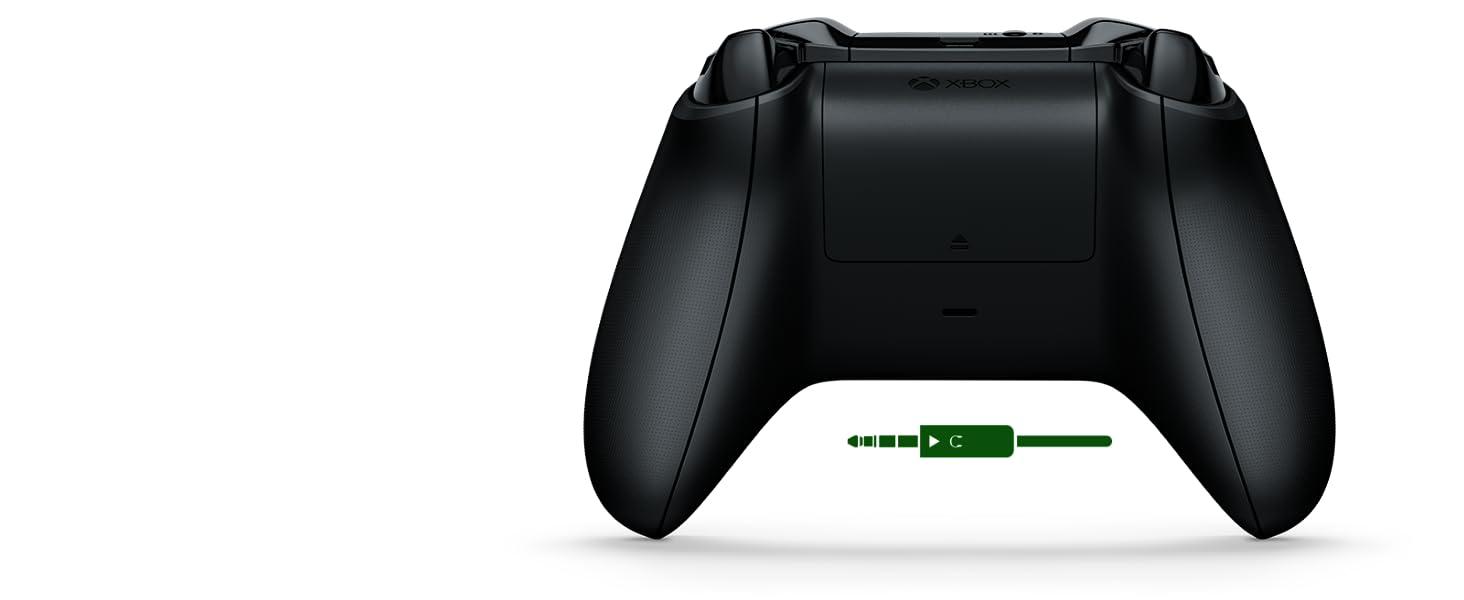 Mando Inalámbrico Xbox negro