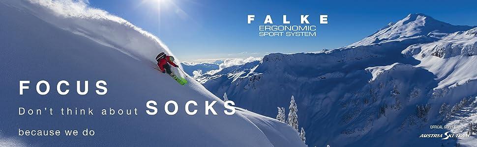 FALKE SK2 Kniestrümpfe Damen Skiing Skisocken mit mittelstarker Polsterung
