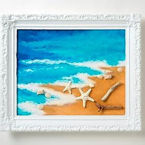 sandy beach mod podge ultra