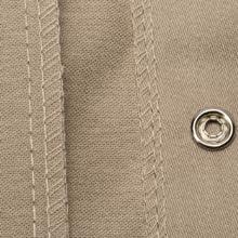 Stitching; Tan; Khaki; Welding Shirt; Welding Jacket; Flame Retardant;
