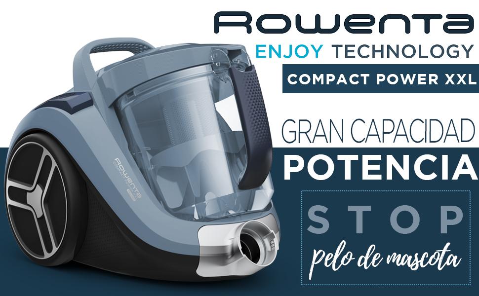 Rowenta Compact Power Cyclonic XL Animal RO4871 - Aspiradora sin ...