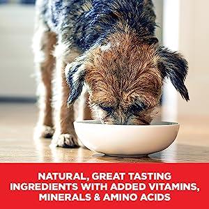 Natural, great-tasting ingredients