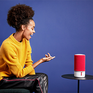 Libratone Zipp 2 Smart Wireless Großer Lautsprecher Alexa Integration Airplay 2 Multiroom 360 Sound Wlan Bluetooth Spotify Connect 12 Std Akku Stormy Black Audio Hifi