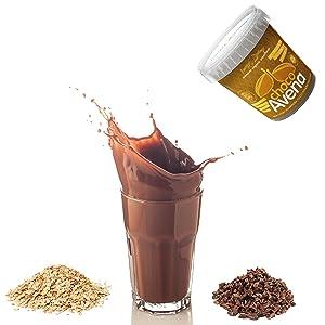 choco avena; chocolate; avena; desayuno; vegano; avena ecológica; cacao ecológico