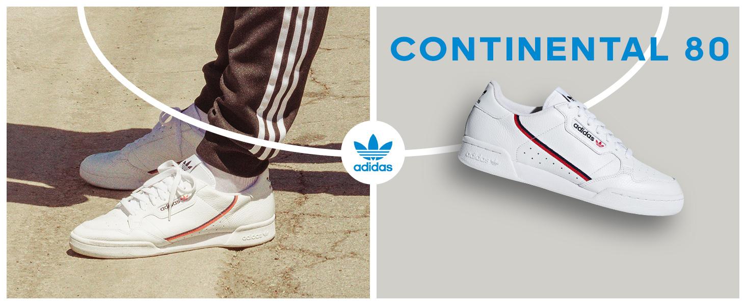 Personificación resistencia protestante  Amazon.com | adidas Originals Men's Continental 80 Ballistic Shoes |  Fashion Sneakers