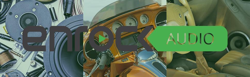 Enrock Audio Brand Logo, Brand Logo, Enrock Logo, Header Image