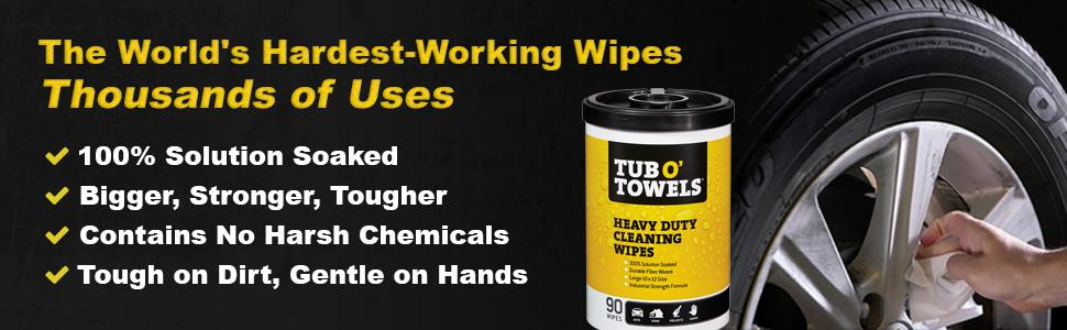 degreaser cleaner, garage wipes, car wipes, car cleaning supplies, bug and tar remover