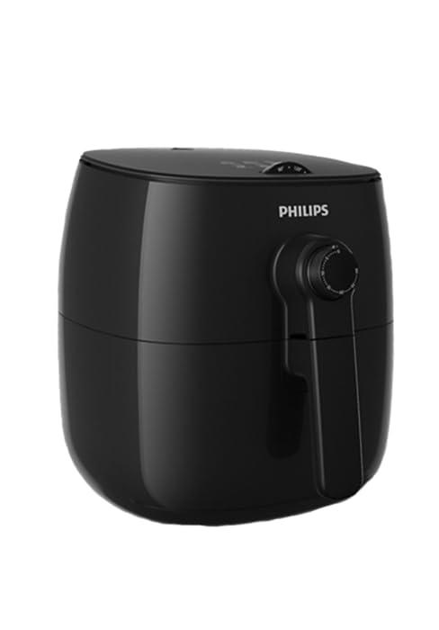 Philips AirFryer HD9652/90 Freidora sin aceite, con tecnología Twin TurboStar y accesorio divisor de sartenes, libro de recetas Incluido, tamaño ...