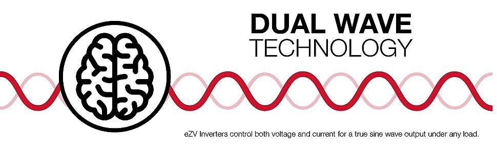 eZV2000S, energizer, inverter, generator, dual wave control