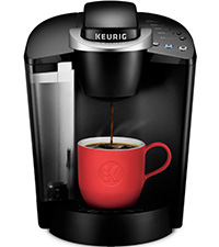 keurig k-classic coffee maker, kclassic coffee machine, keurig brewer, k-cup pod single serve brewer
