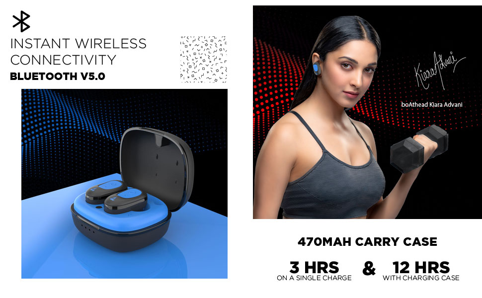 boAt Airdopes 201 True Wireless Earbuds with Up to 15H: Amazon.in