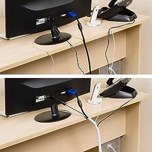 D-Line CTW2.5B Envoltura para gestión de disposición de cables 2,5 ...
