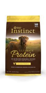 croquetas para perro, perro, alimento seco, instinct Ultimate Protein, Instinct