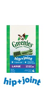 Glucosamine and chondroitin support joint health in large breed dogs and senior dogs.
