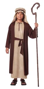 Nativity Costume, Wise Men, Balthasar, Melchior, Gaspar, Shepherd, Virgin Mary, Noah, Jesus, Joseph