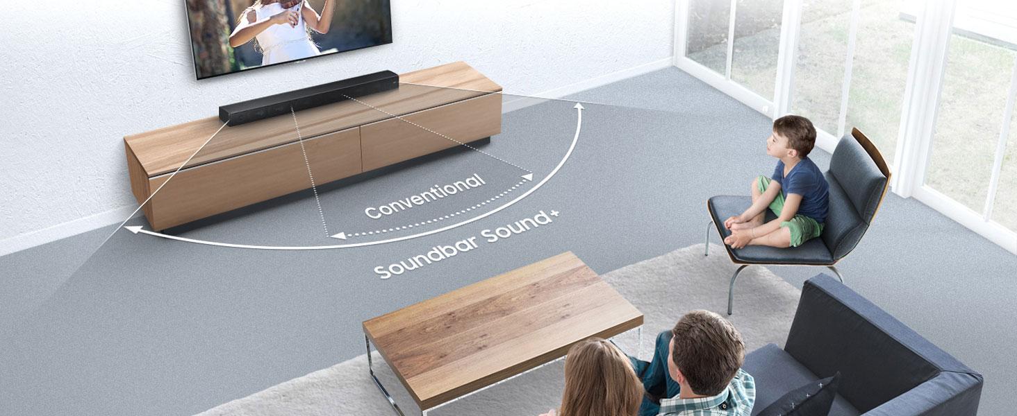 Amazon.com: Samsung Electronics Sound+ Premium Soundbar (HW-MS650/ZA ...