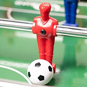 Durable dual-colored plastic players