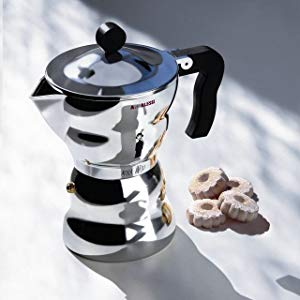 Alessi Espresso coffee maker Moka Alessi, design made in Italy