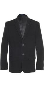 black pant; chaps suit; stretch blazer; husky blazer; black blazer for kids; chaps ninos; tuxedo nin