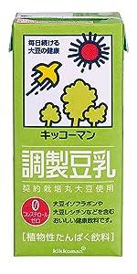 調製豆乳 豆乳 キッコーマン 大豆 大豆飲料 豆乳飲料大豆 キッコーマン飲料