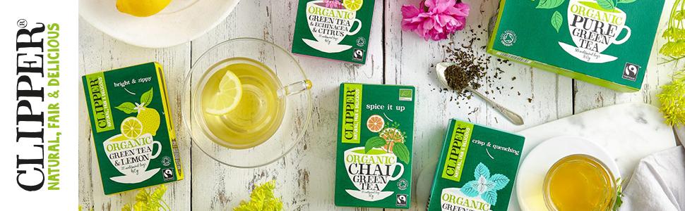Green Tea Banner